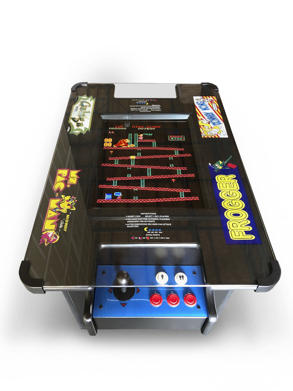 Classic 2 Sided Cocktail Arcade 60 Games Imagine That